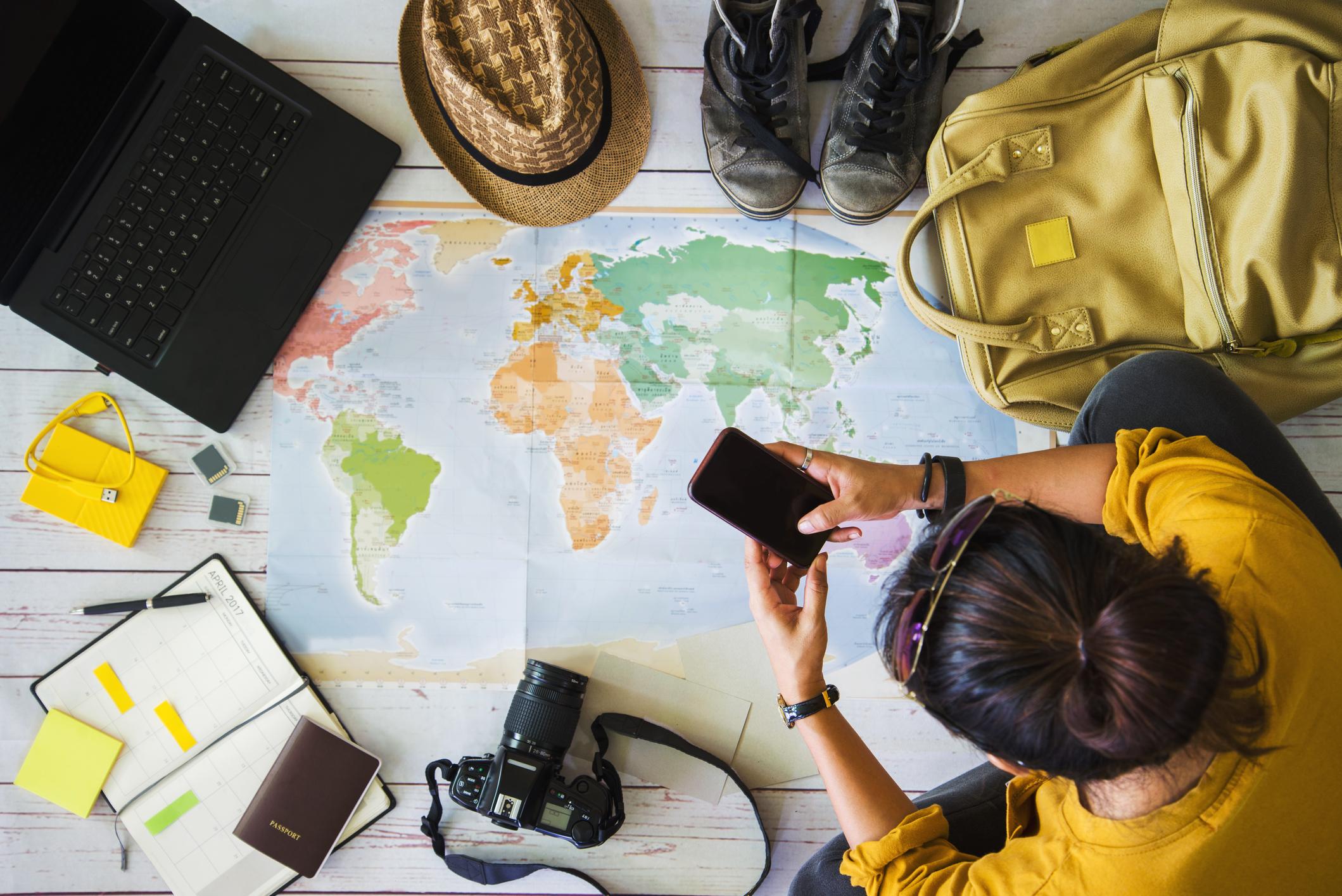 travel planning 2020